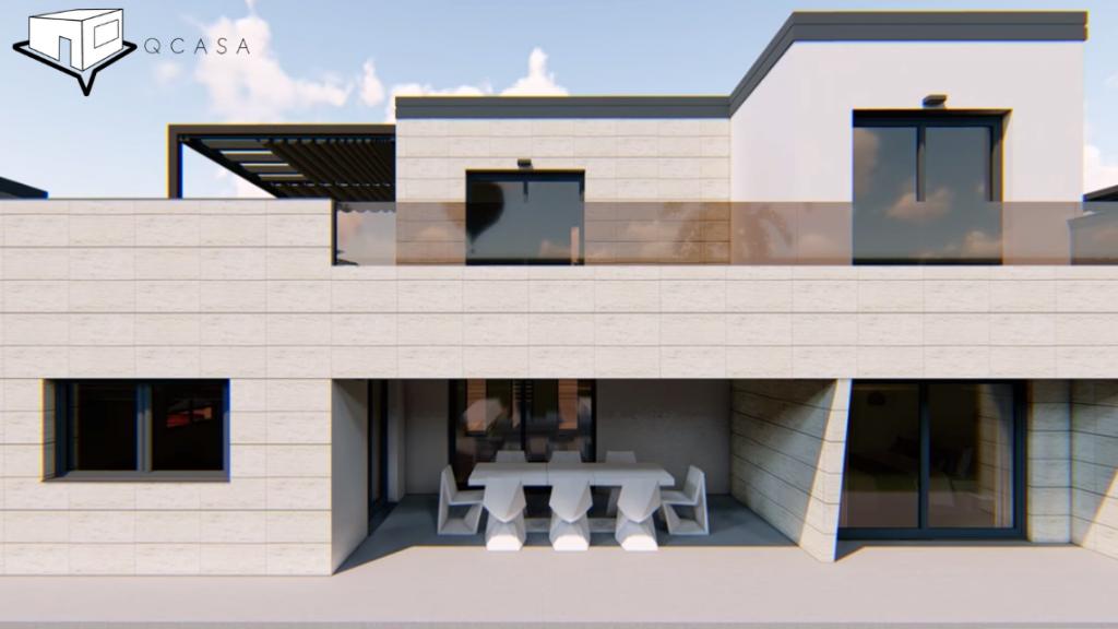 Diseños de casas de dos plantas - Modelo Menorca