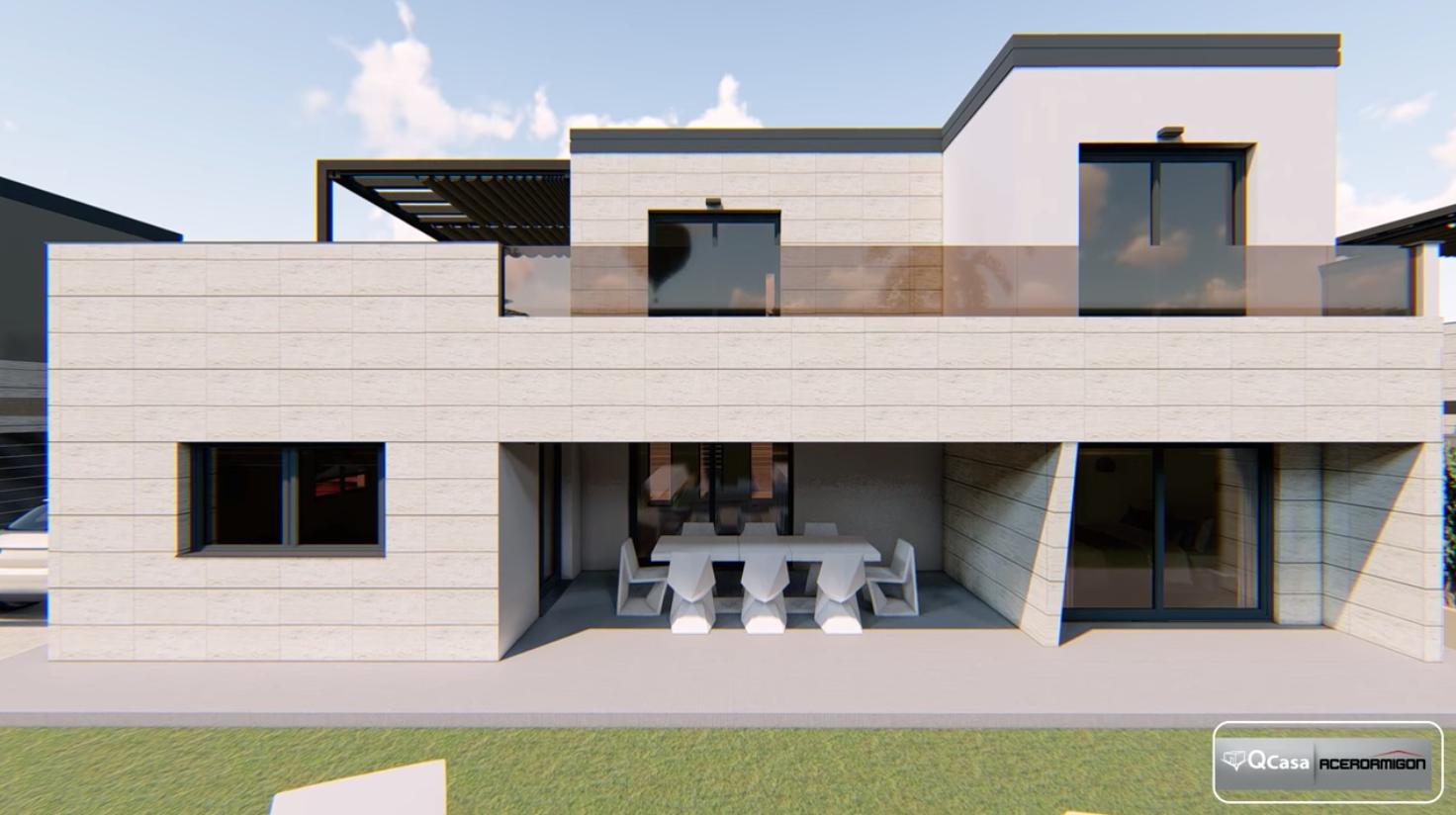 Casa prefabricada Diseño Modelo Menorca