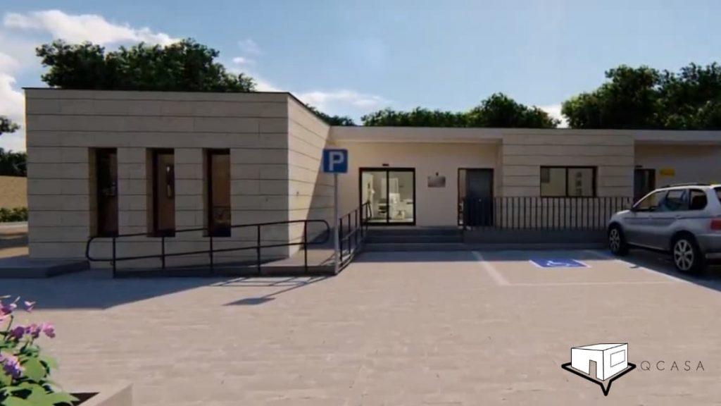 Casa Moderna de Hormigón Prefabricada
