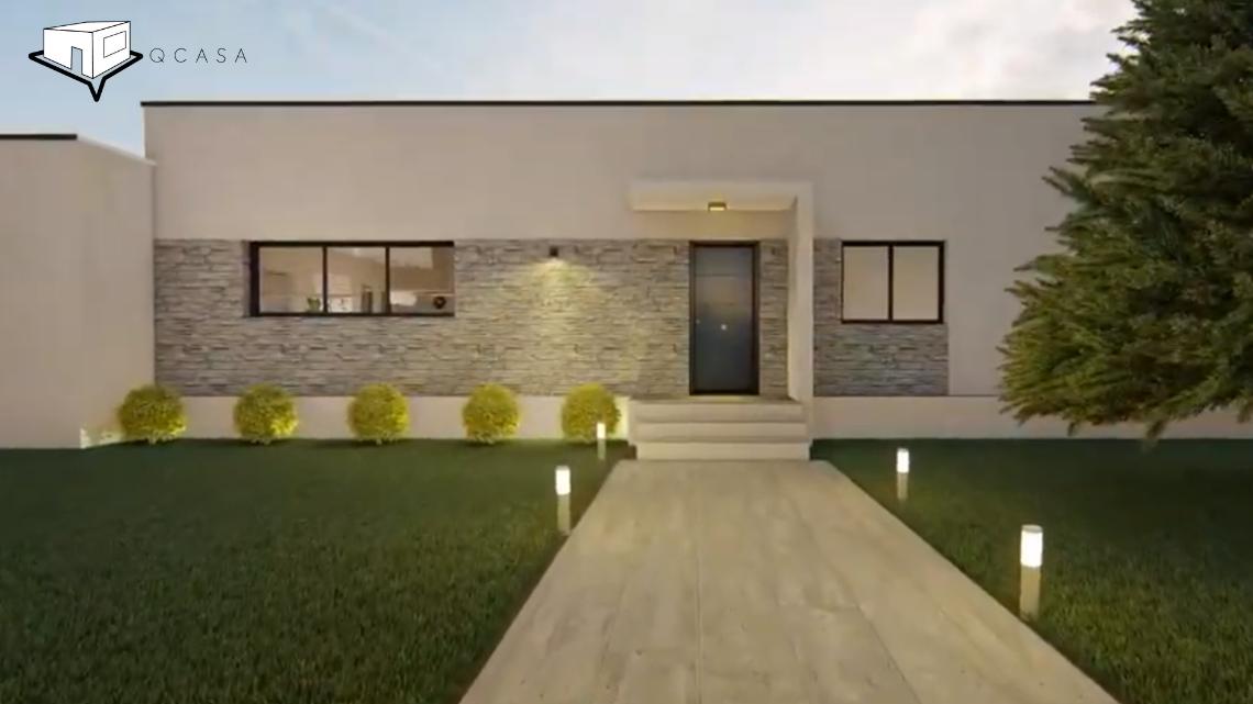 Casa Prefabricada Construida en Valdemorillo.