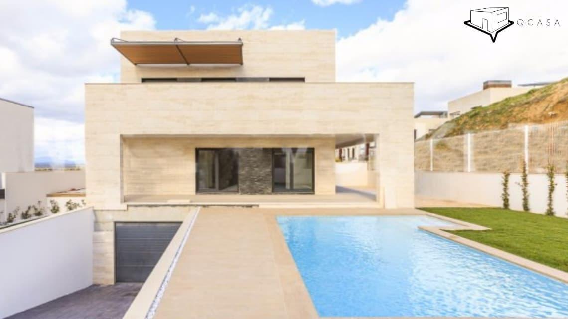 Quieres construir una casa prefabricada nueva a un precio reducido, confía en Qcasa, tenemos modelos de diseño elegante, rústico y moderno que te encantarán quiero una casa prefabricada