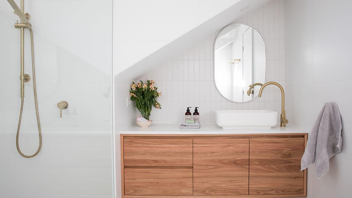 diseño de baños elegante