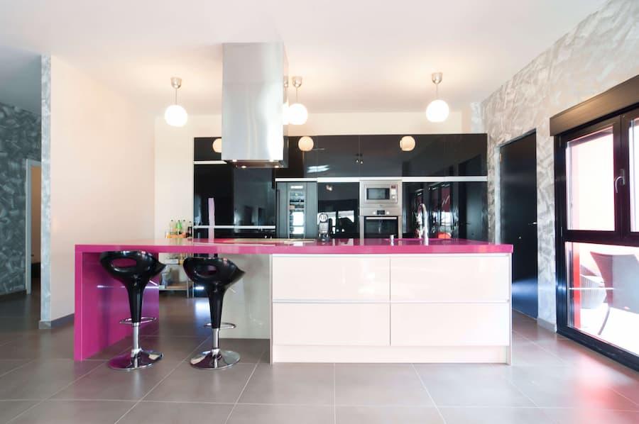 Cocina casas prefabricadas de diseño, cocinas de casas prefabricadas, cocinas para casas prefabricadas